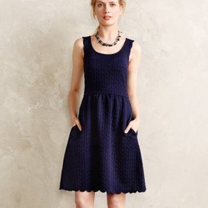 Navy blue Maeve by Anthropologie dress